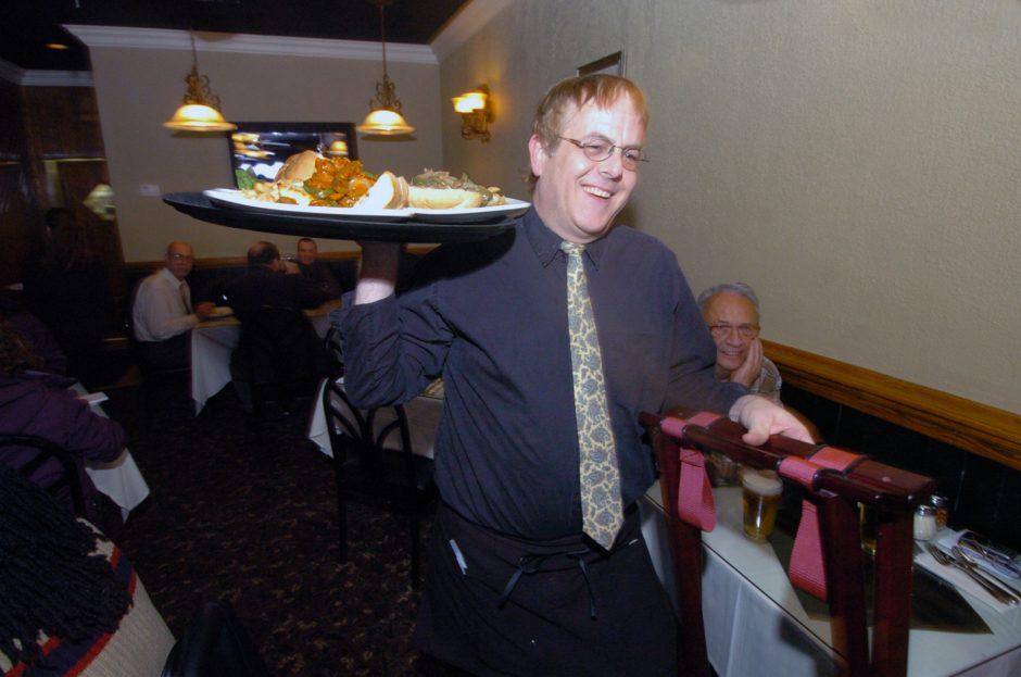 Waiter Peter Empie