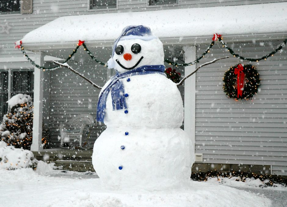 The Great Rotterdam Snowman.