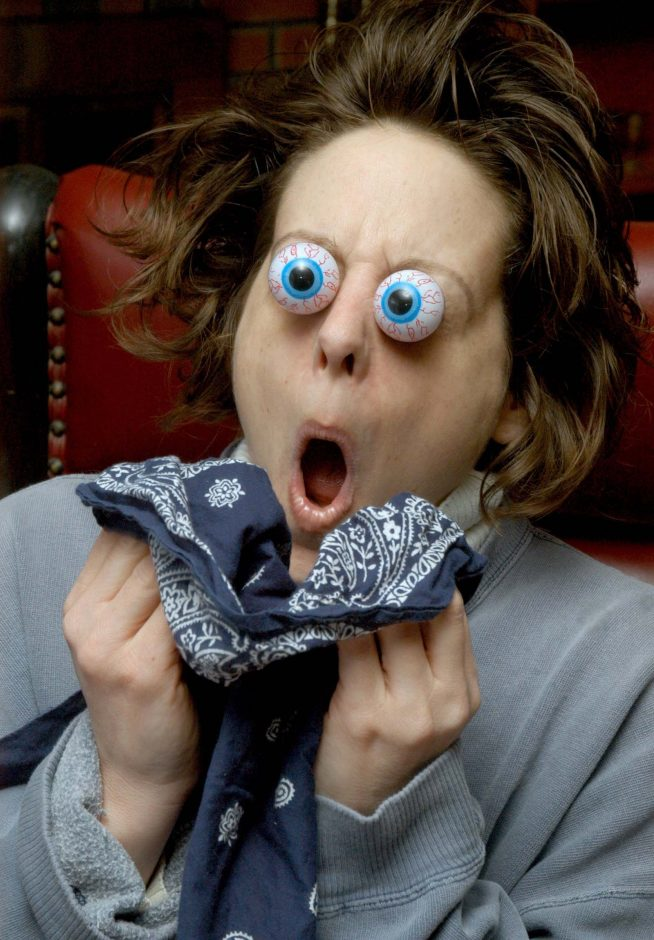 Can your eyes really pop out when you sneeze, like in this photo illustration? Not according to ophthalmologists.