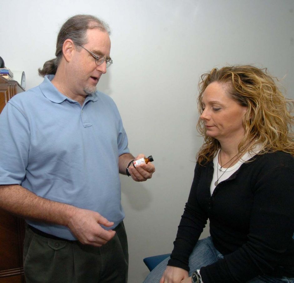 Dr. Larry Malerba of Guildreland talks to Lisa Dunston about homeopathic remedies to treat her muscle spasms and allergies.