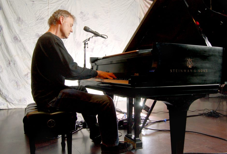 Bruce Hornsby, shown here, will team up with Ricky Skaggs to play the Troy Savings Bank Music Hall next Thursday.