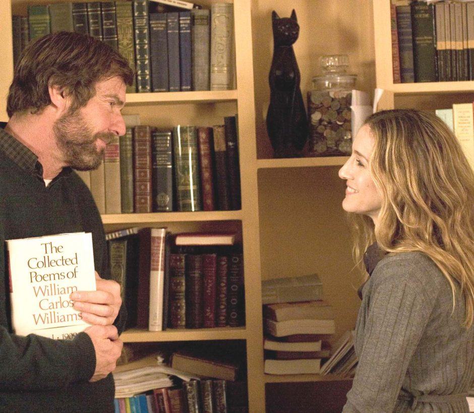 """Dennis Quaid is Lawrence Wetherhold and Sarah Jessica Parker is Dr. Janet Hartigan in """"Smart People."""""""