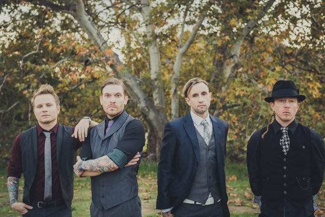 """The members of Shinedown will perform tracks from their latest album, """"Amaryllis,†at the Glens Falls Civic Center on Saturday. (John Stephens)"""