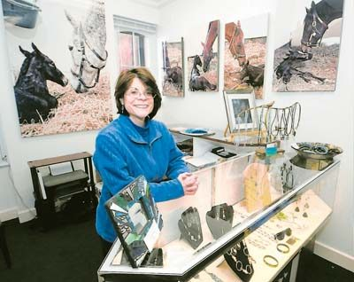 'It's a meet-up space for groups near and dear to my heart,' Susan A. Rivers says of Niche Gallery in Saratoga Springs. Every show at the Broadway gallery benefits a charity.