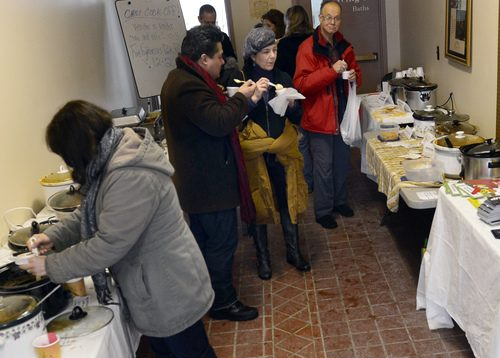 The Spa City Farmers Market 1st Annual Chili Cook-Off at Lincoln Baths was a flury of activity Sunday.