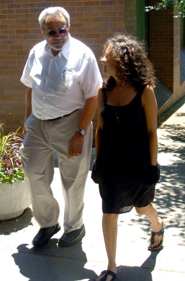 Dr. David N. Hornick walks into City Police Court, with family, for sentencing on Wednesday afternoon.The Schenectady doctor who was known for making house callswas originally arrested for operating what authorities labeled a mobile pharmacy, taking presc