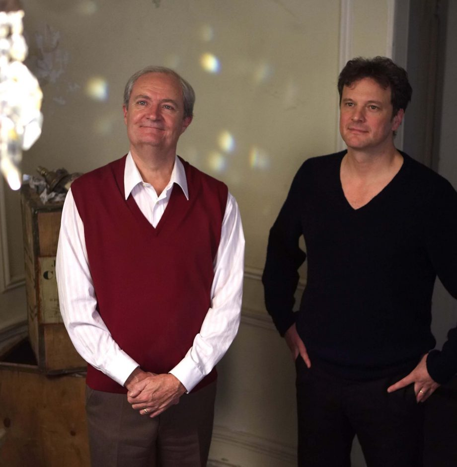 """Jim Broadbent, left, is Arthur Morrison, and Colin Firth is his son, Blake, in """"When Did You Last See Your Father?"""""""
