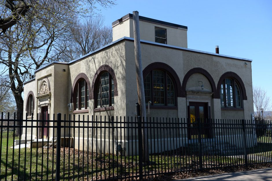 The historic Ferry Street pump station in the Stockade district was damaged during Hurricane Irene and is slated for replacement.
