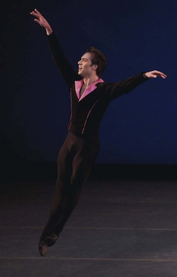 "Gonzalo Garcia performs in Peter Martins' ""Grazioso."""