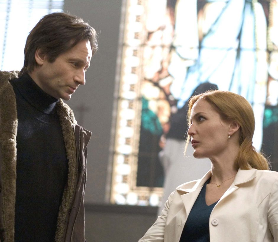 """Fox Mulder (David Duchovny) and Dana Scully (Gillian Anderson) are on the case in the film """"X-Files: I Want to Believe."""""""