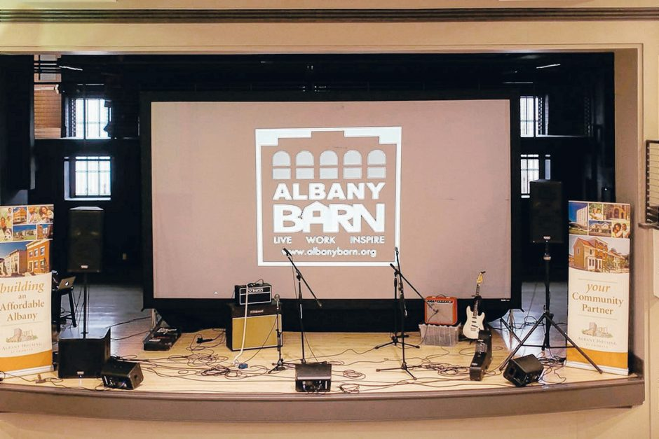 The stage at the Albany Barn was named best new stage in Metroland's Reader Poll. The group behind the facility hopes to use it for cultural activity in the neighborhood.