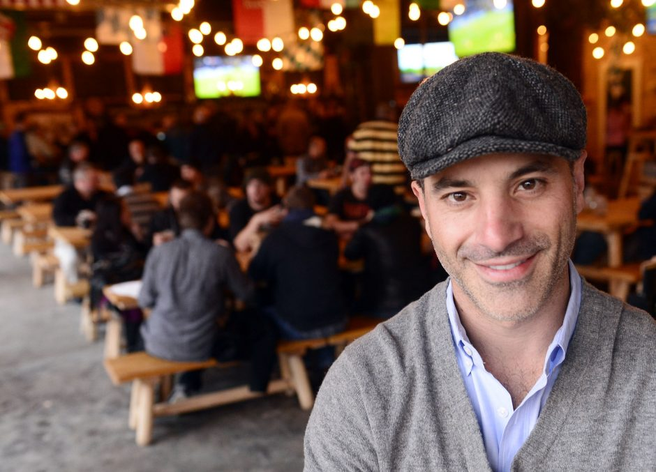 Matt Baumgartner, Owner of Wolff's Biergarten on Erie Boulevard in Schenectady Friday, November7, 2014.