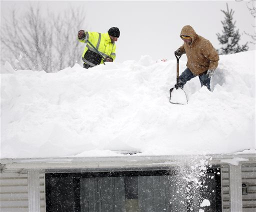 Roofs Collapse Under Buffalo Snow The Daily Gazette