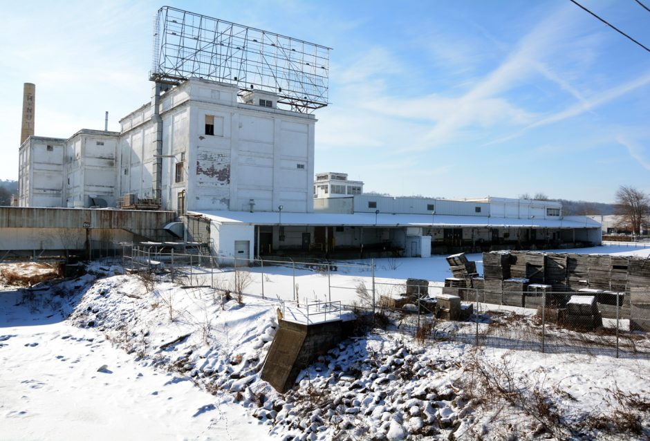 Crews have started to demolish the old Beech-Nut plant in Canajoharie.