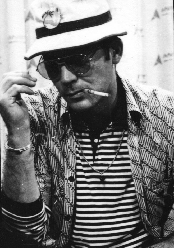 "Hunter S. Thompson is pictured in the ""Gonzo"" documentary, directed by Alex Gibney."