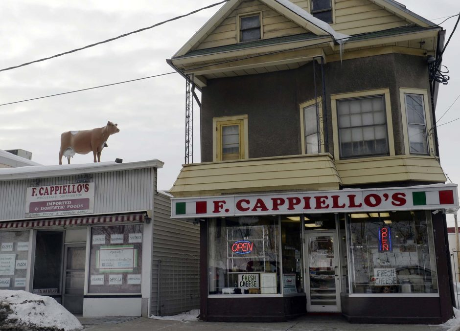 F. Cappiello's Wholesale Distributors on Broadway in Schenectady Thursday, February 26, 2015.