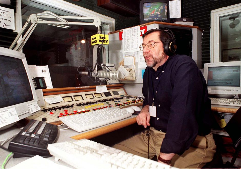 Former WGY radio personality Don Weeks is shown in a Gazette file photo.