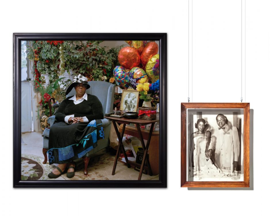 Daesha Devon Harris shot this portrait of Inez Tillman in 2011 and gave it the title 'She was married at Mt. Olivet back when it was on Williams and Federal Street.' The photo is one of four award-winning Harris works currently in the Photography Regio...