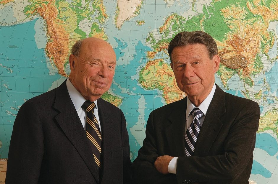 Brothers Donald (left) and Armand Feigenbaum.