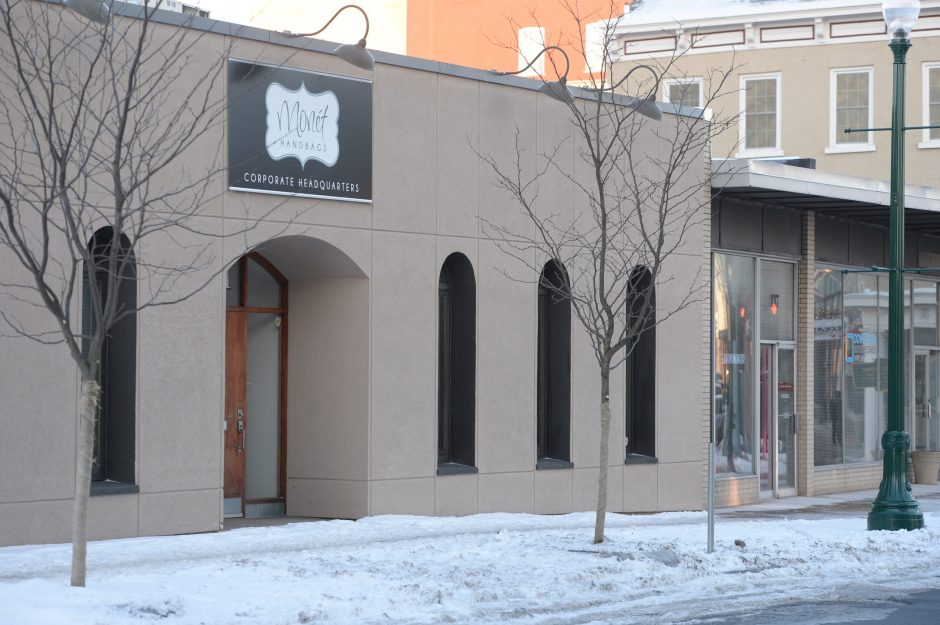 The former home of Monet Handbags at 131 State Street in Schenectady is seen on Friday, January 16, 2015.