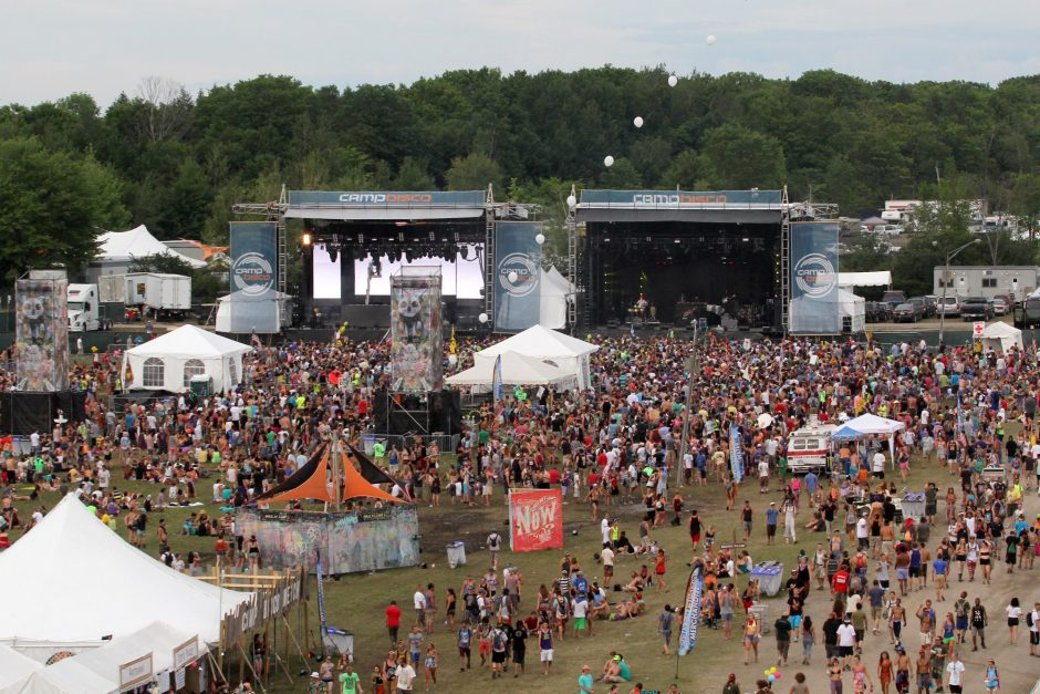Camp Bisco music festival at Indian Lookout Country Club in Mariaville on Friday, July 12, 2013.