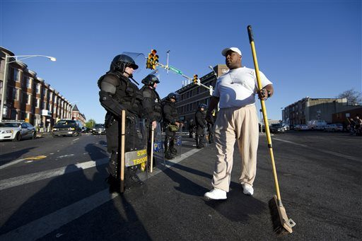 National Guard Called In To Keep The Peace In Baltimore The Daily Gazette