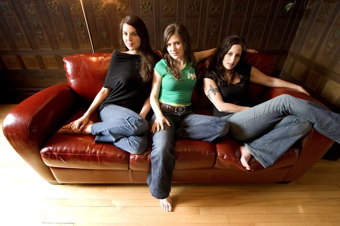 The Wailin' Jennys are, from left, Heather Masse, Ruth Moody and Nicky Mehta.