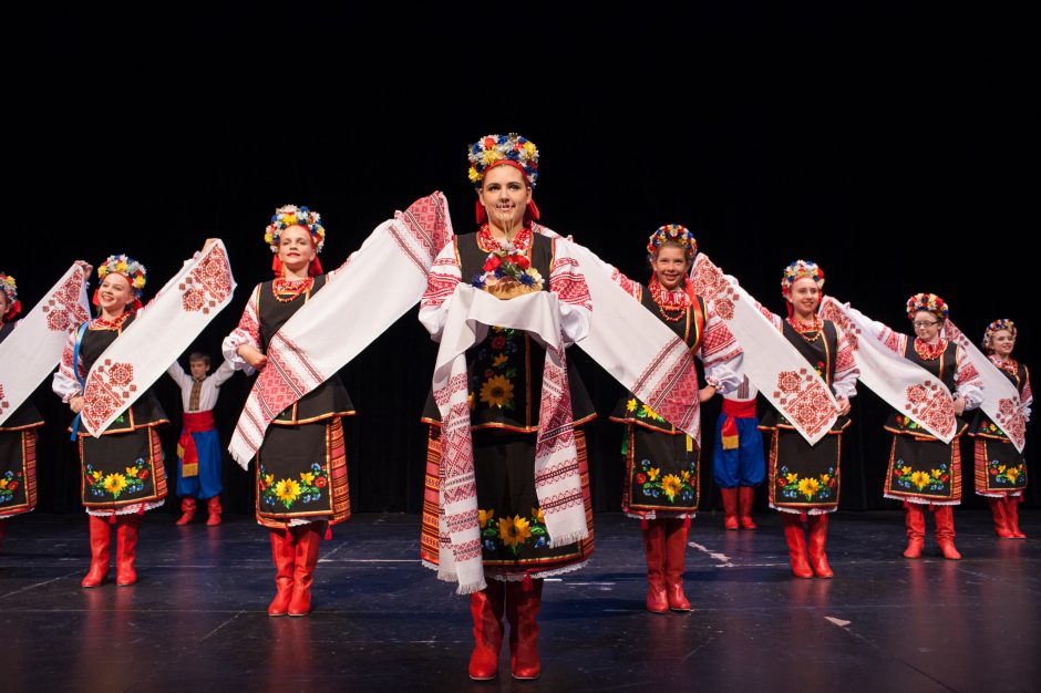"Zorepad Ukrainian Dance Ensemble members will dance in the comic opera ""Cossack Beyond the Danube"" Friday at the University at Albany."