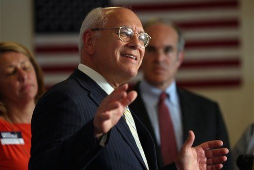 Rep. Paul Tonko, D-NY, speaks during a campaign event for Democratic Congressional candidate Aaron Woolf on Tuesday, Aug. 26, 2014, in Glens Falls, N.Y.