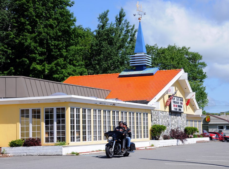 The last Howard Johnson's restaurant in the nation, located in Lake George.