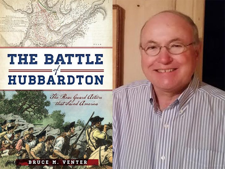 "Bruce Venter is the author of ""The Battle of Hubbardton."""