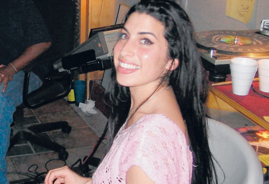 """A young Amy Winehouse in a scene from the documentary """"Amy."""" (The Associated Press)"""
