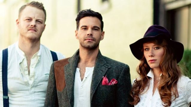 The Lone Bellow played a tight show to an enthusiastic crowd Friday at The Egg.