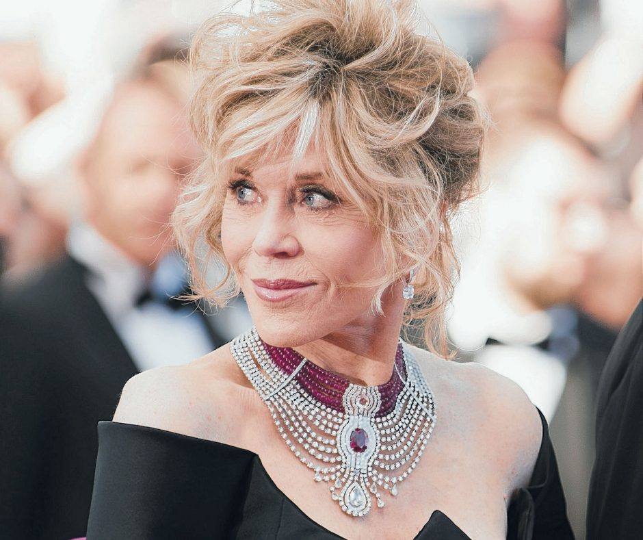 Actress Jane Fonda is seen at the Cannes film festival in southern France in May.