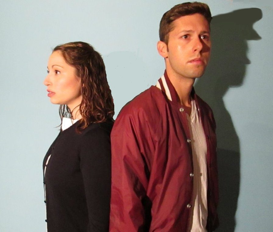 Caitlin Mesiano and Michael Luongo play the title characters in Andrew Lippa's 'John & Jen.' opening Thursday, July 30, at The Theater Barn in New Lebanon.