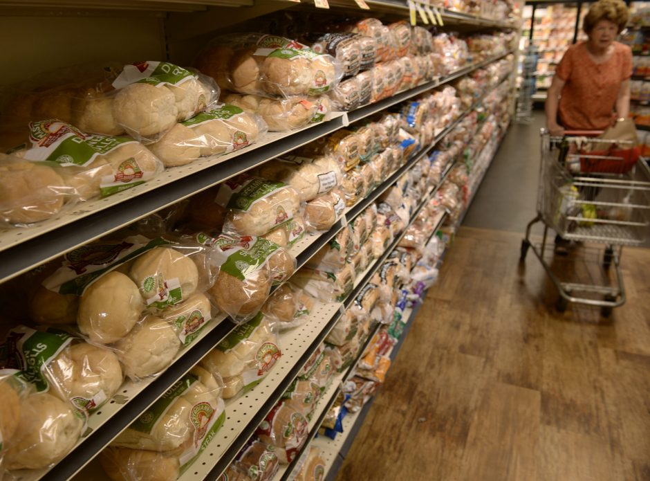 Mastroianni bread and rolls on the shelves at the Niskayuna Co-Op July 5, 2016. The Rotterdam company's intellectual property, including the name, was sold Wednesday to a Utica-area family-owned bakery for $220,000.