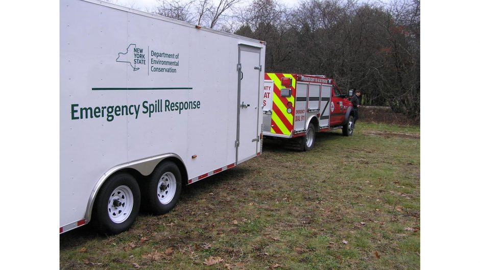 Gov. Andrew Cuomo announced Monday that 24 state-of-the-art trailers will be stationed at strategic positions along New York's crude oil transportation corridor to enhance the spill response capabilities of emergency responders. (photo provided)