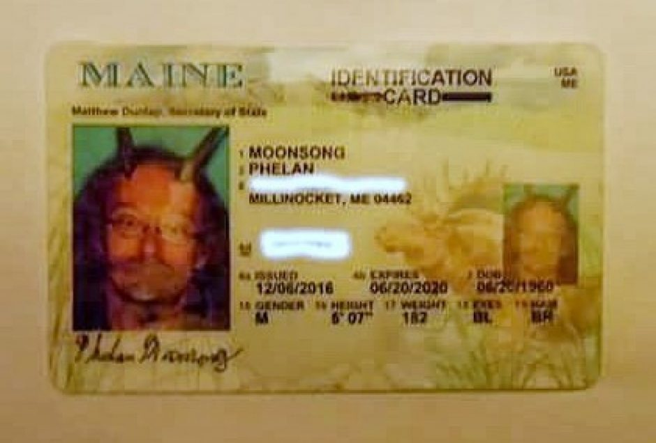 Phelan Moonsong, a Pagan priest, recently persuaded Maine to allow him to wear goat horns in his state-issued ID.