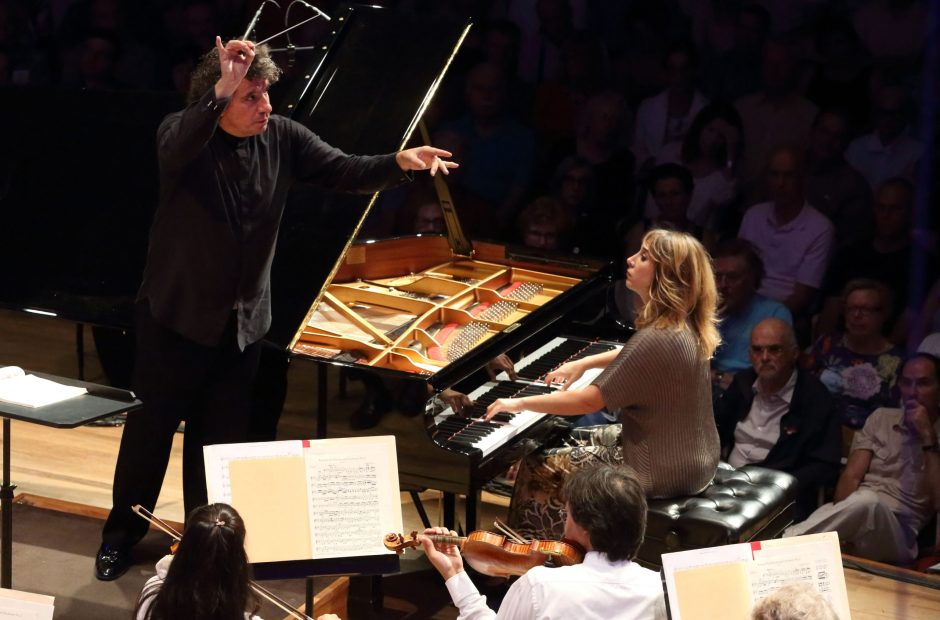 Ingrid Fliter was among several top pianists to perform this summer at Tanglewood.