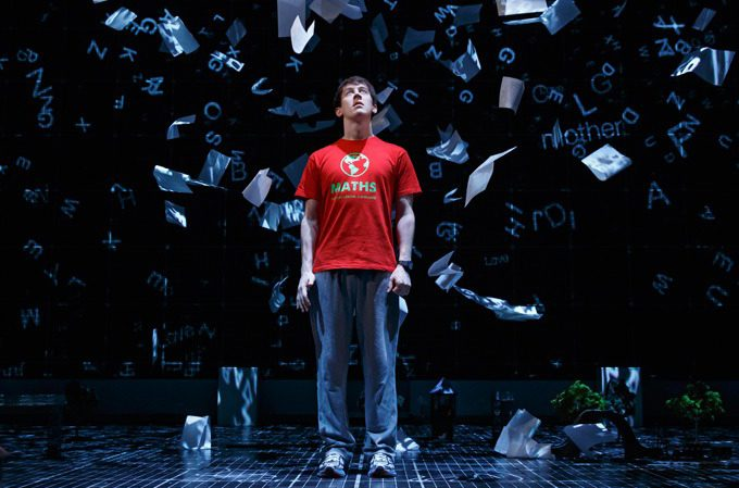 "A scene from ""The Curious Incident of the Dog in the Night-Time."""