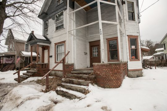 This house at 232 South Main St. in Gloversville has been cited for code violations.