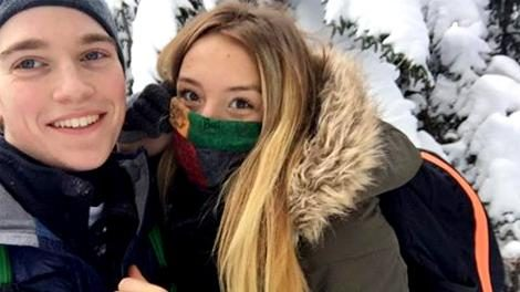 Blake Alois, 20, and Madison Popolizio, 19, both of Niskayuna, were located near the summit of Algonquin.