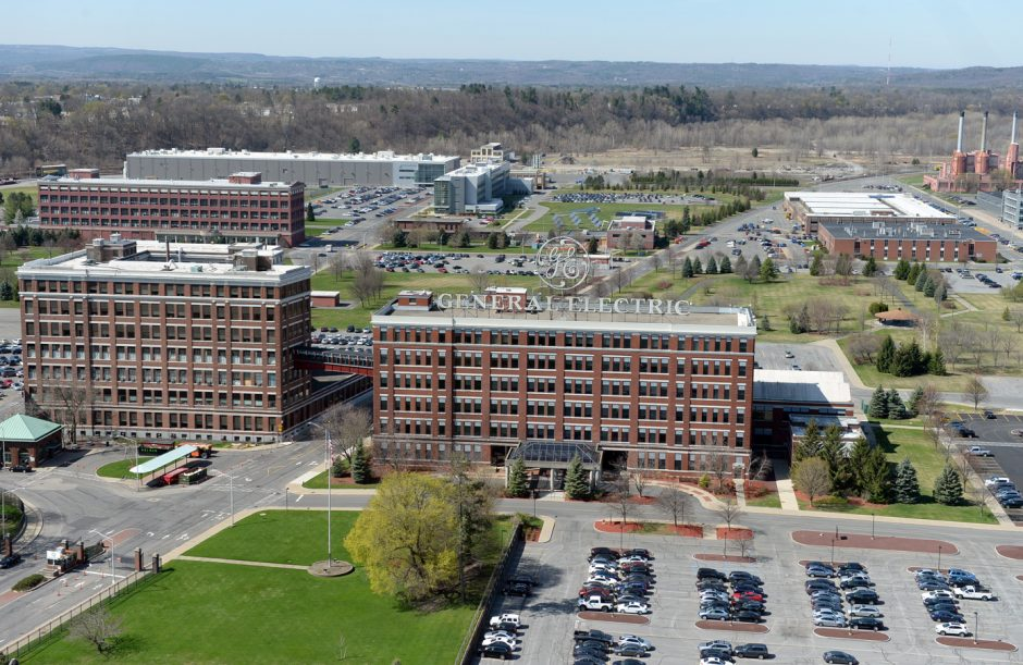 A 2016 view of the General Electric facility in Schenectady and Rotterdam.