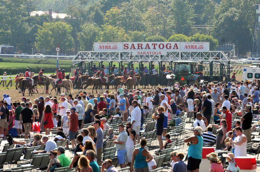 Saratoga Race Course, 2015