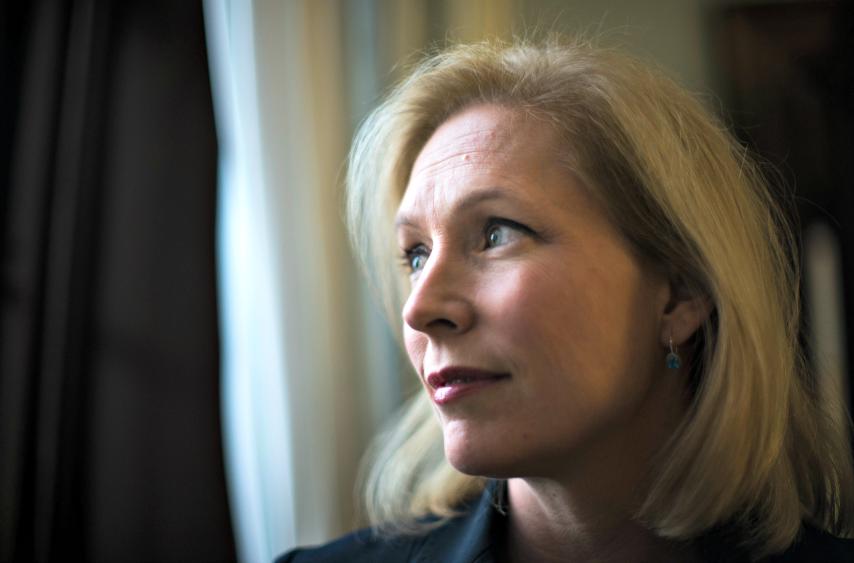 Sen. Kirsten Gillibrand (D-N.Y.) in Washington on Dec. 6, 2013.