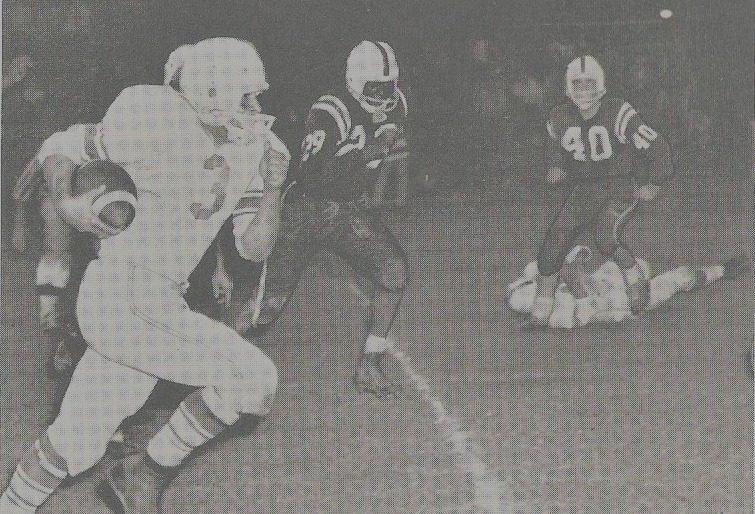 Paul Della Villa was an all-American running back for Mont Pleasant in the early 1960s.