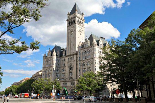 The Trump International Hotel in Washington on Aug. 22, 2016.