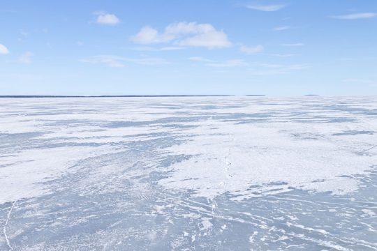 Frozen lakes have hidden dangers.