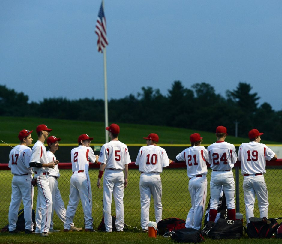 Niskayuna baseball players at Blatnick Park in Niskayuna on Aug. 5, 2014.