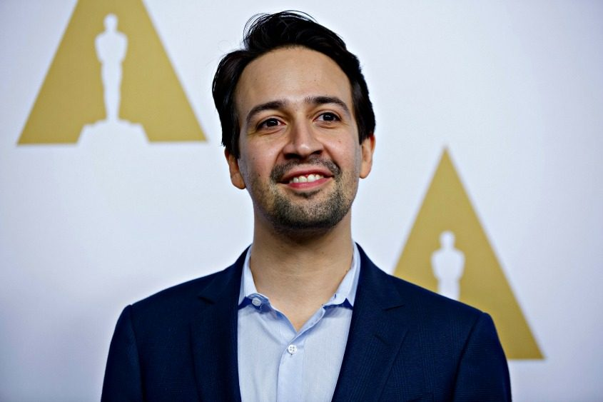 "Lin-Manuel Miranda, whose song, ""How Far I'll Go,"" in ""Moana"" is nominated for best original song."
